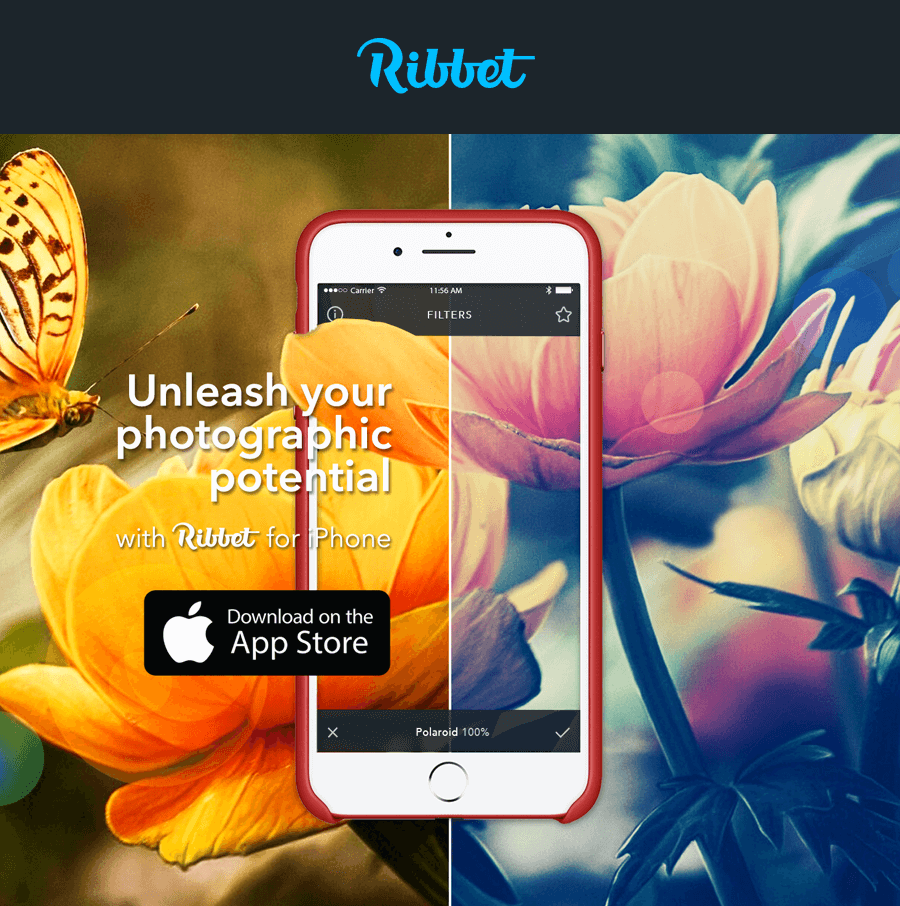 Ribbet for iPhone is here - With 1 month Free Premium