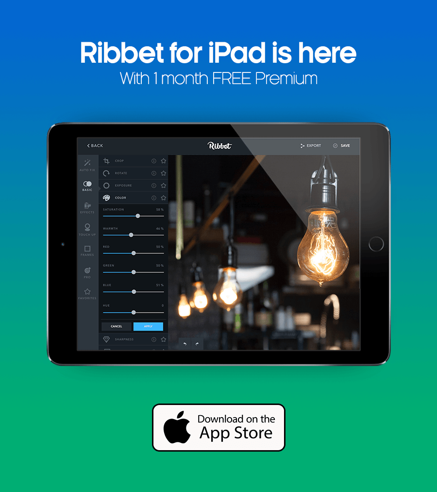 Ribbet for iPad is here - With 1 month Free Premium